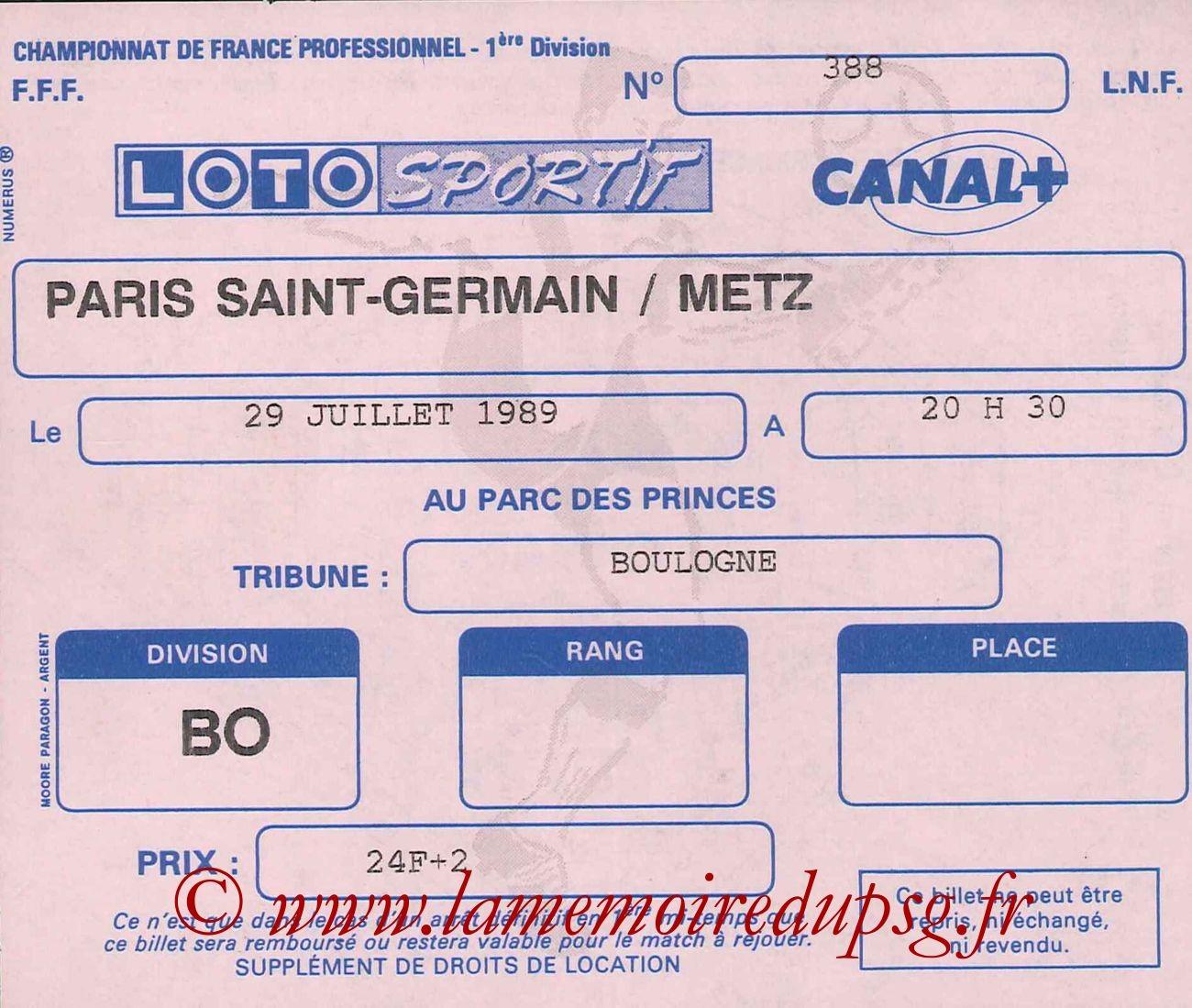 1989-07-29  PSG-Metz (2ème D1)