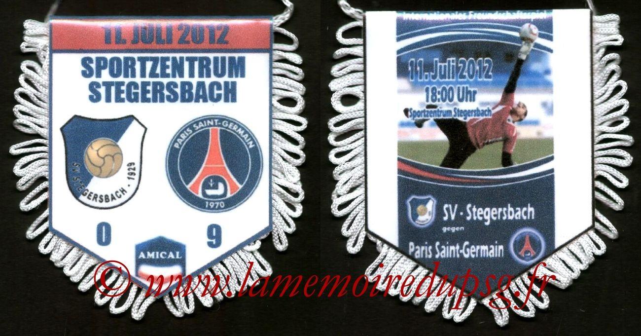 2012-07-11  Stegersbach-PSG (Amical à Stegersbach)