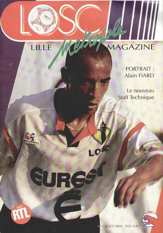 1992-09-01  Lille-PSG (5ème D1, Lille Metropole N°1)