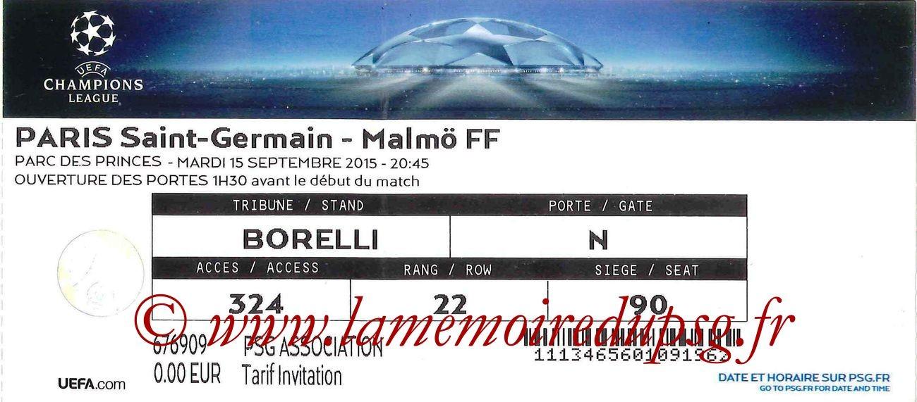 2015-09-15  PSG-Malmo (1ère C1)