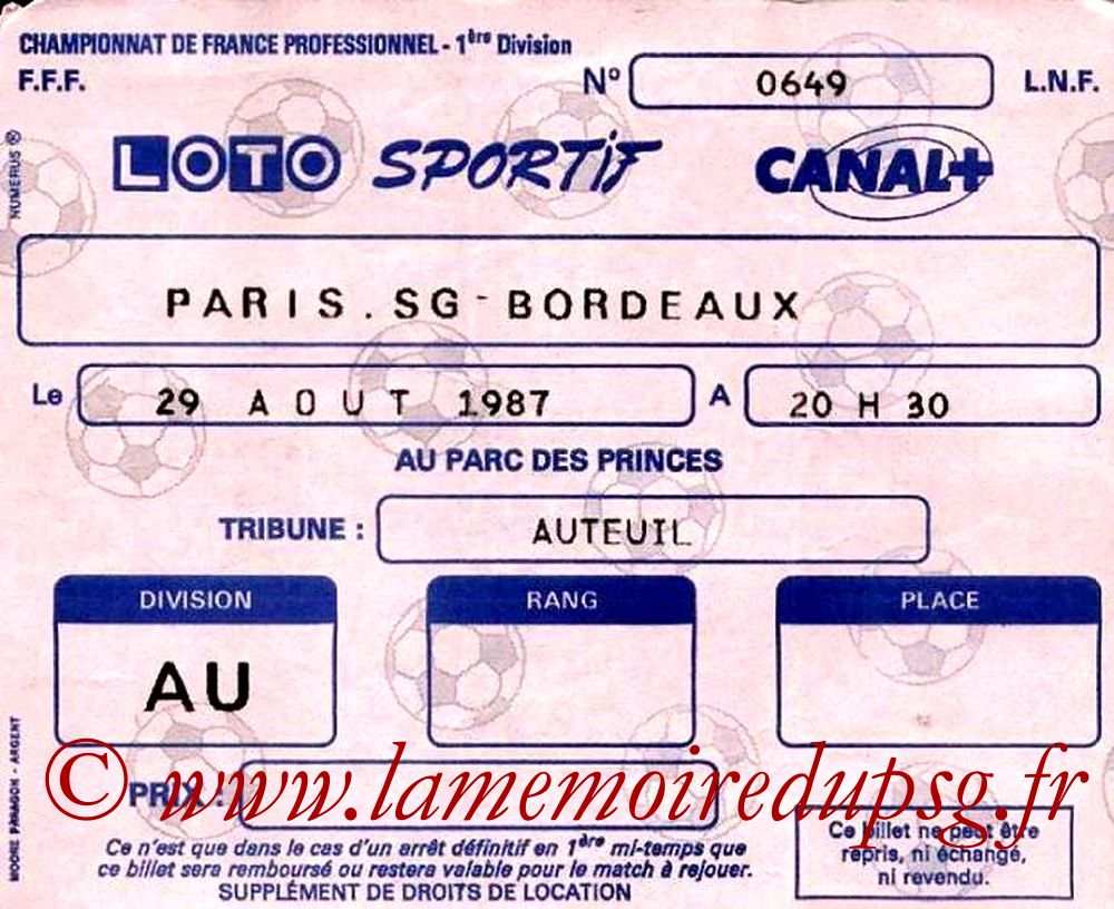 1987-08-29  PSG-Bordeaux (8ème D1)