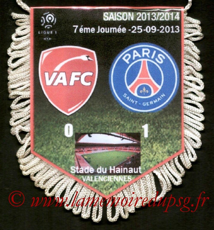 2013-09-25  Valenciennes-PSG (7ème L1)