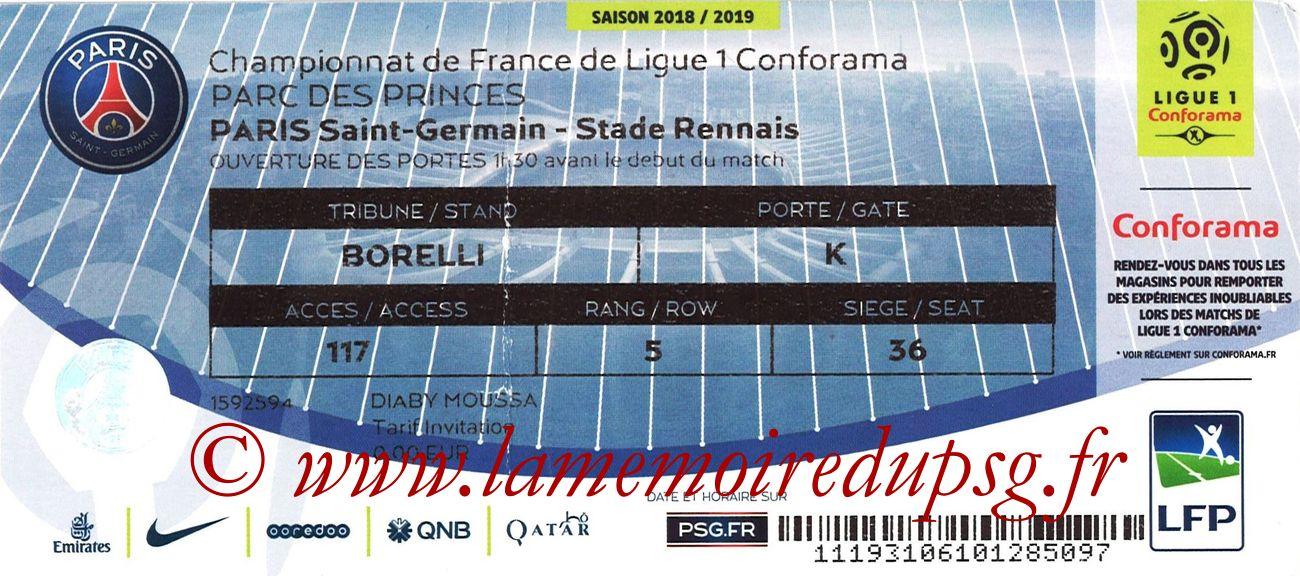 2019-01-27  PSG-Rennes (22ème L1)