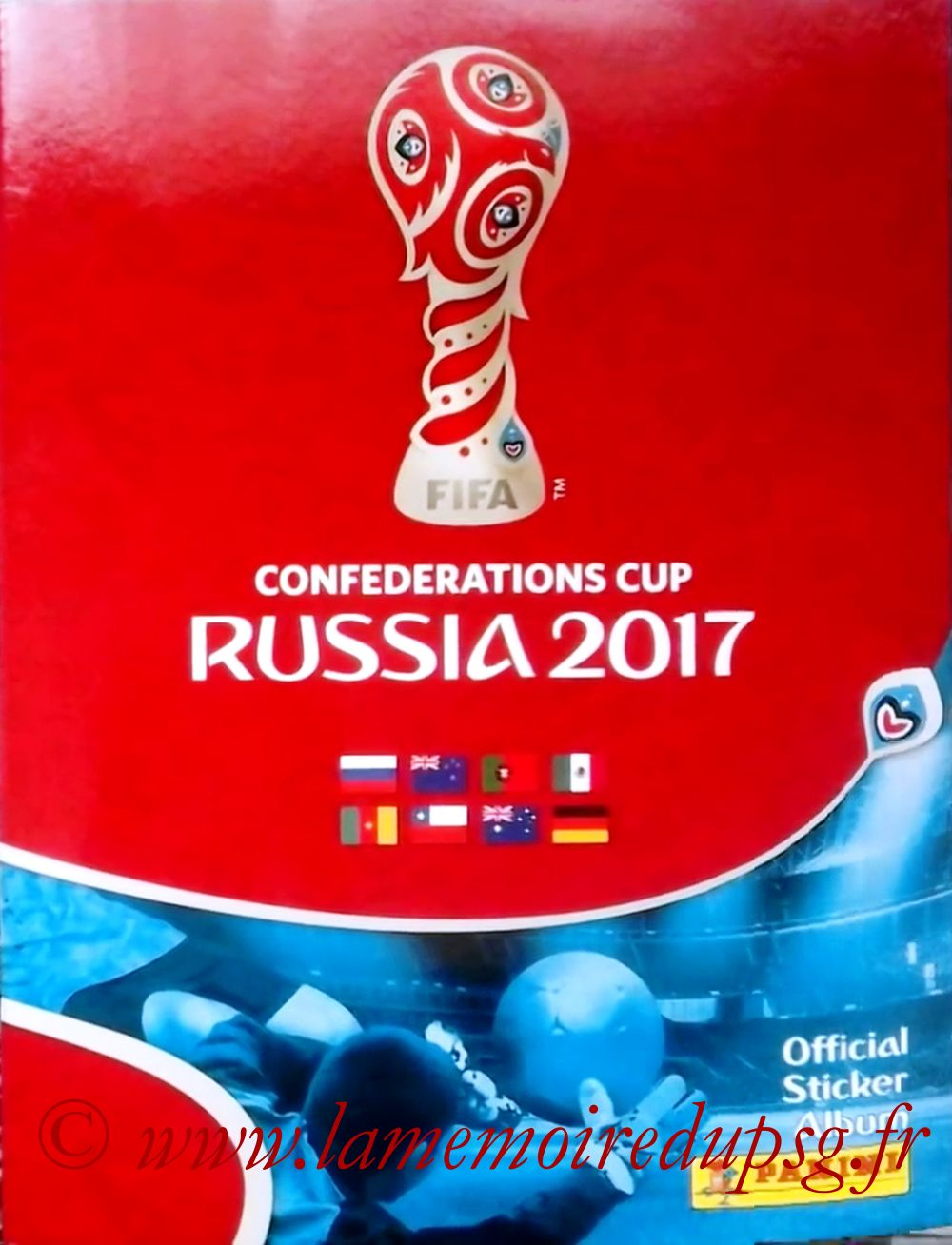 2017 - Panini Confederations Cup Russia Stickers