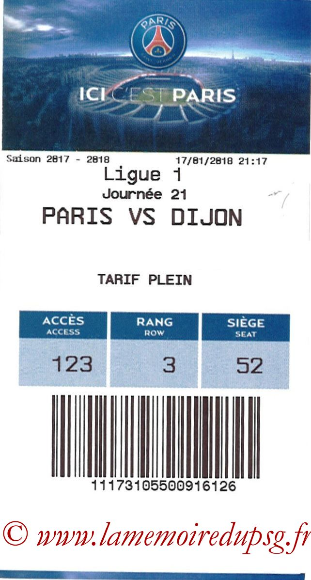 2018-01-17  PSG-Dijon (21ème L1, E-ticket)