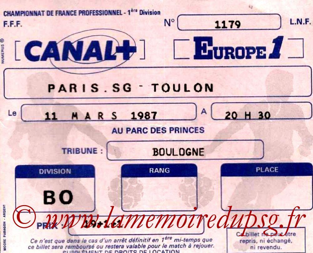 1987-03-11  PSG-Toulon (26ème D1)
