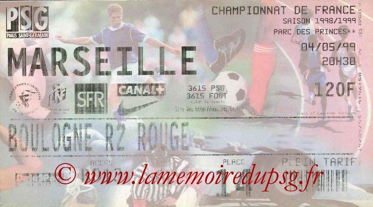 1999-05-04  PSG-Marseille (32ème D1)bis