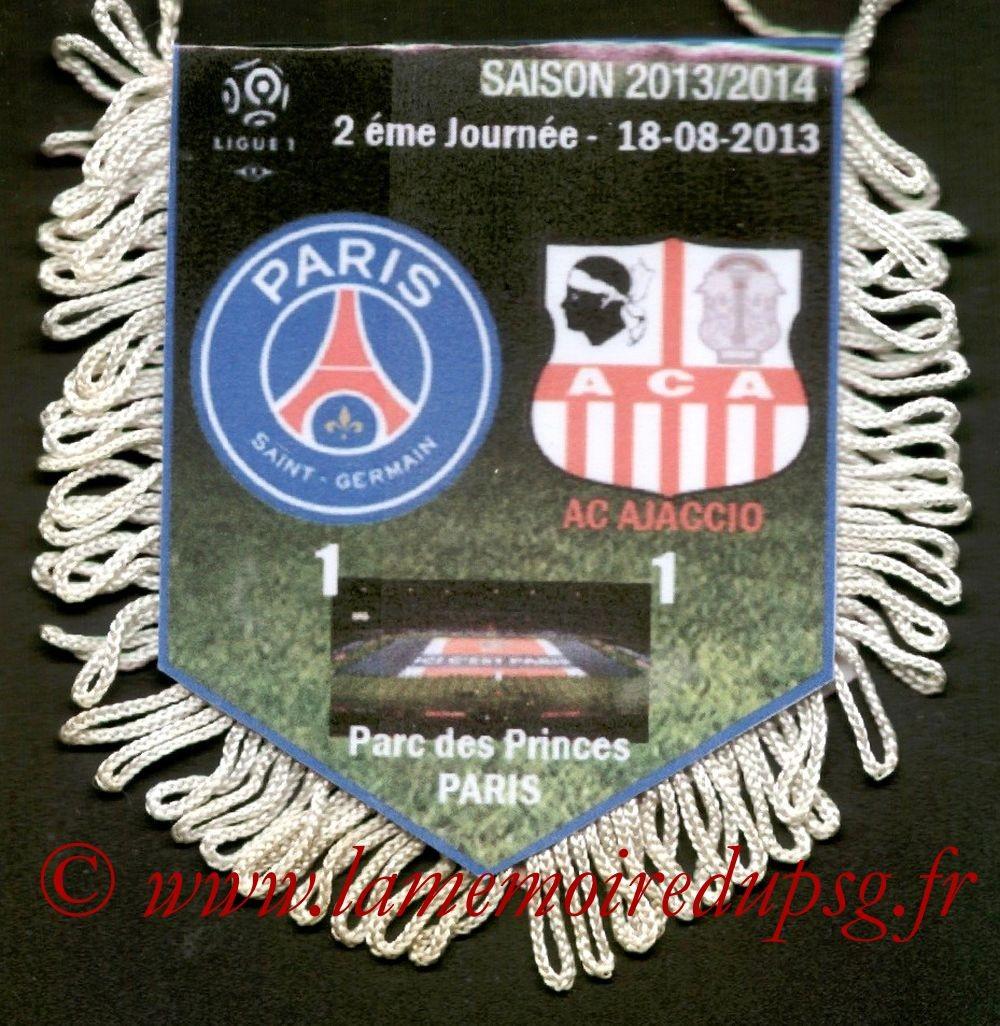 2013-08-18  PSG-Ajaccio (2ème L1)