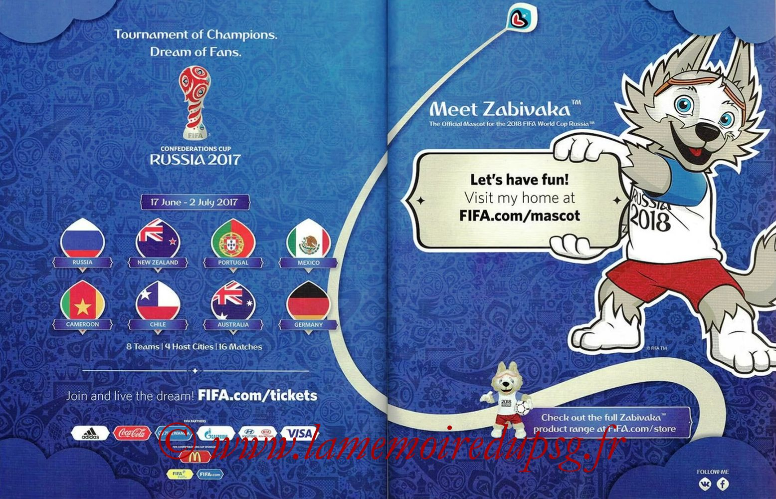 2018 - Panini Road to FIFA World Cup Russia Stickers - Pages 62 et 63 - Brésil