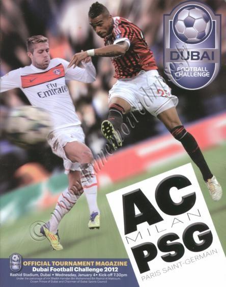 2012-01-04  PSG-Milan AC (Amical à Dubaï)