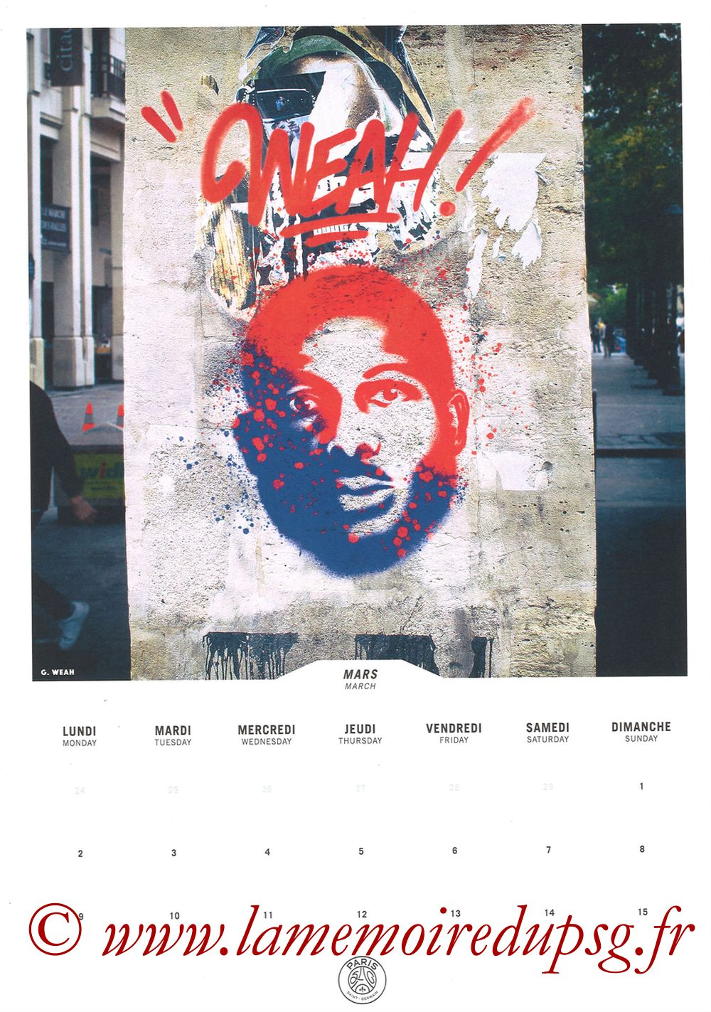 Calendrier PSG 2020 - Page 05 - WEAH