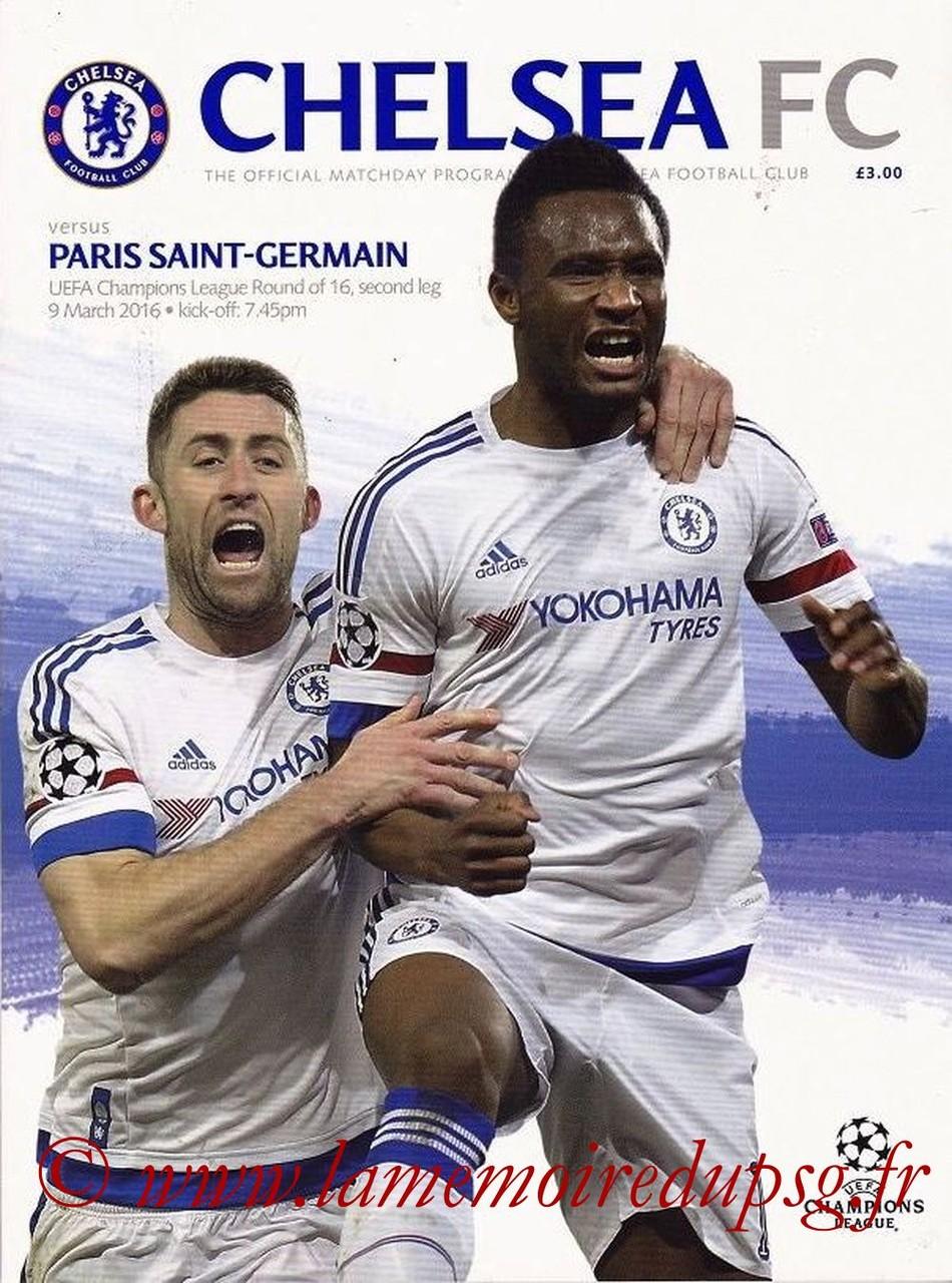 2016-03-09  Chelsea-PSG (8ème retour C1)