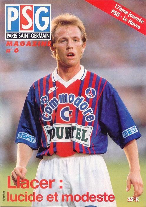 1993-11-10  PSG-Le Havre (17ème D1, PSG Magazine N°6)