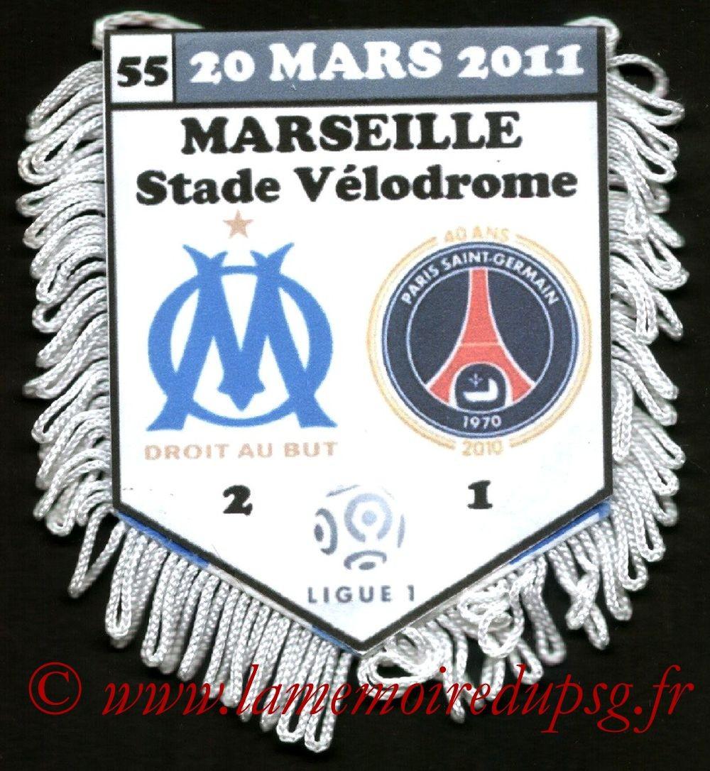 2011-03-20  Marseille-PSG (28ème L1)