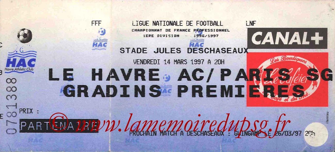 1997-03-14  Le Havre-PSG (29ème D1)bis