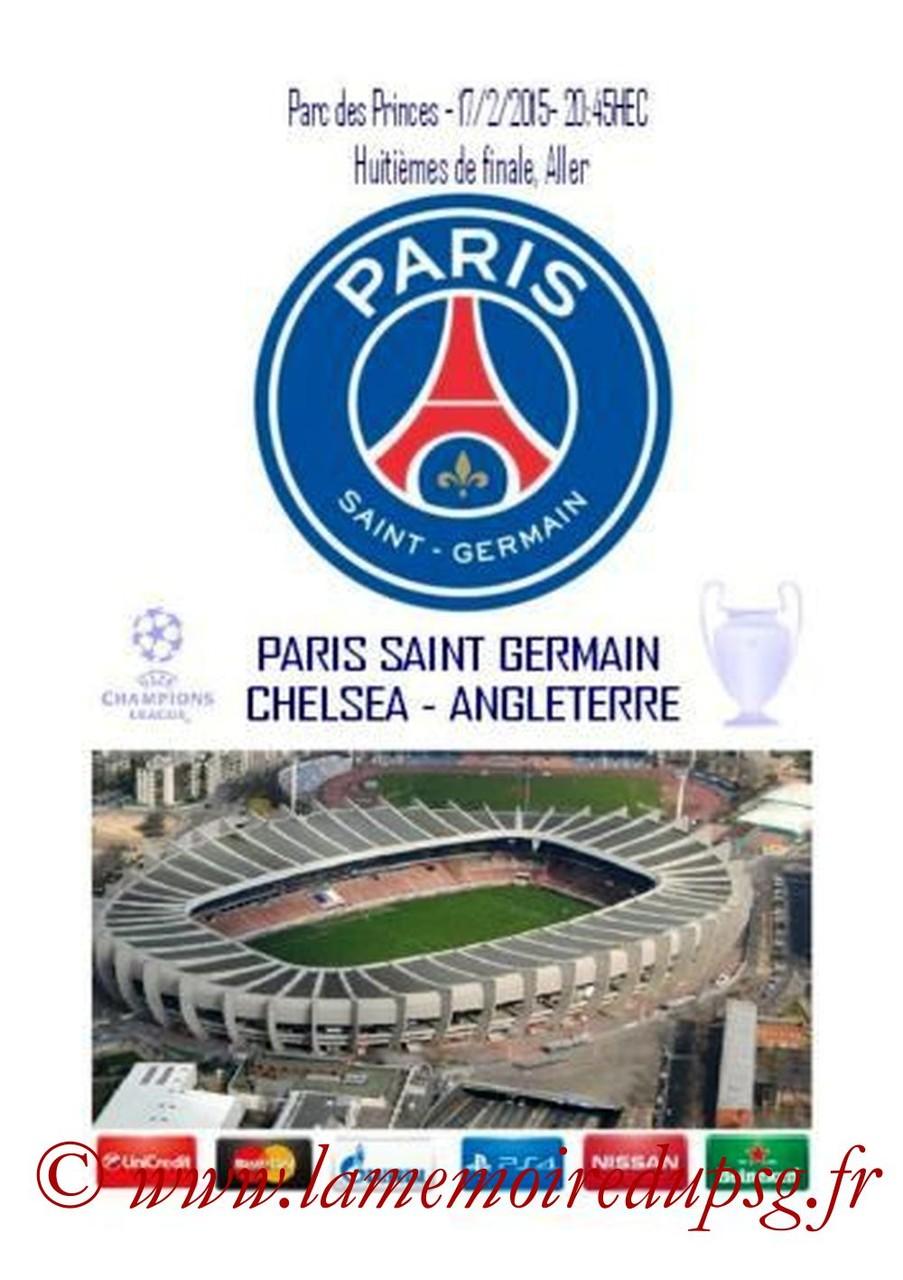 2015-02-17  PSG-Chelsea (8ème aller C1, Programme pirate)