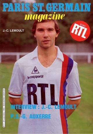 1984-09-28  PSG-Auxerre (10ème D1, Paris SG Magazine N°7)
