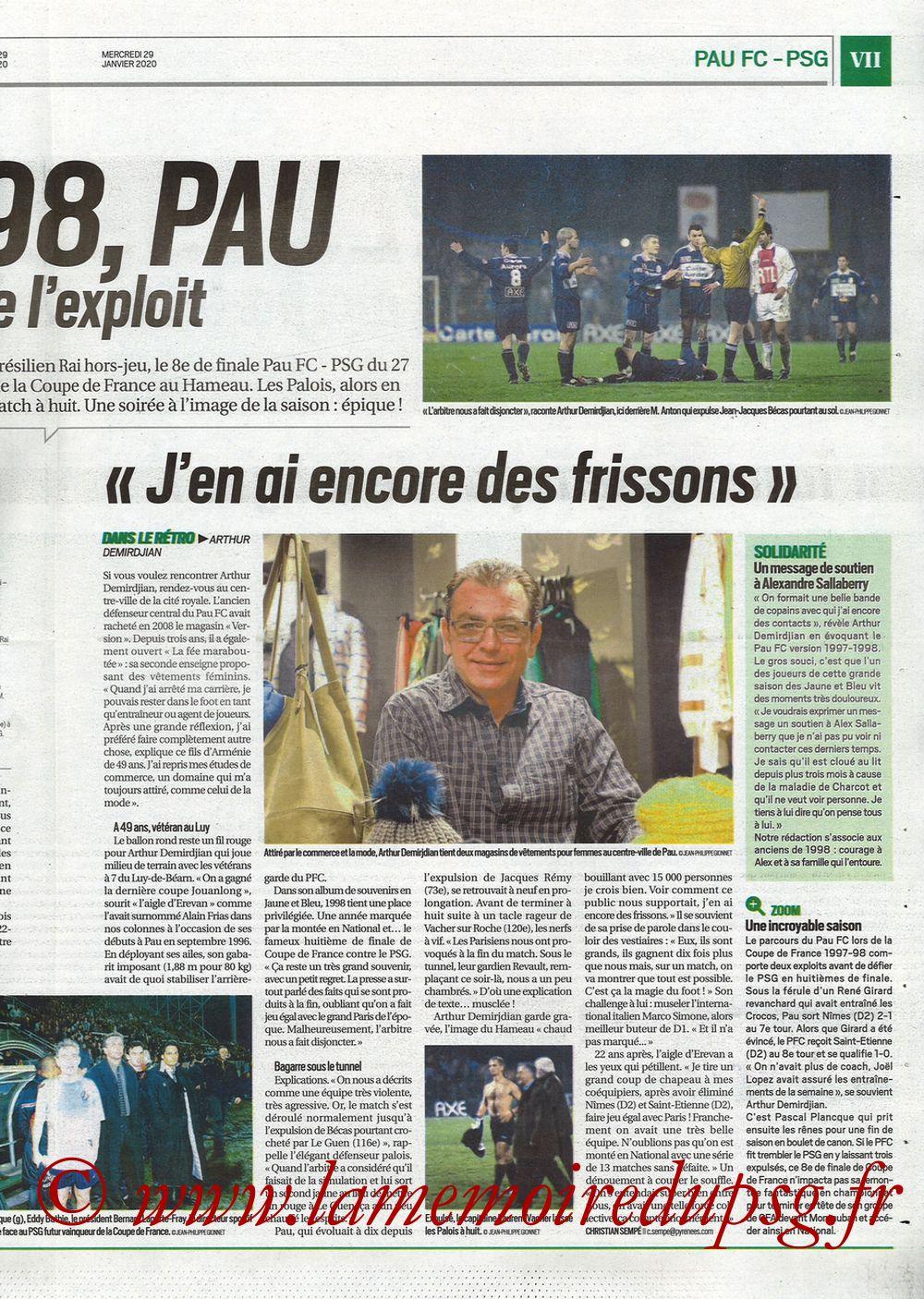 2020-01-29  Pau-PSG (8ème CF, Pyrenees Sports) - Page 07