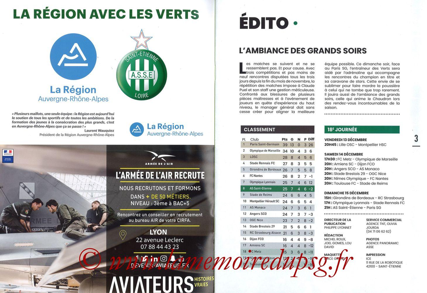 2019-12-15  Saint-Etienne (18ème L1, Maillot Vert N°31) - Pages 02 et 03