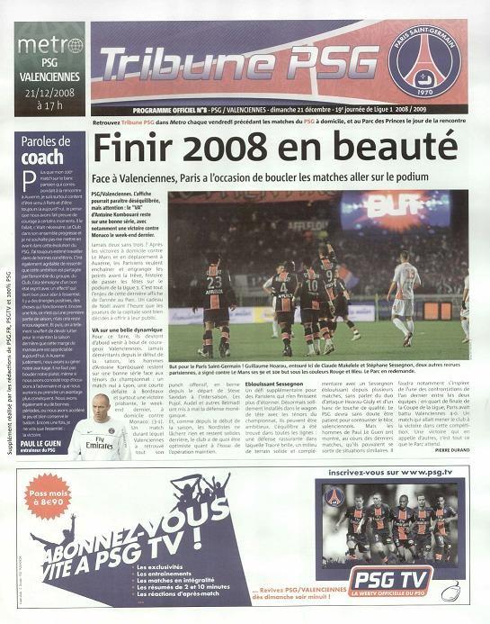 2008-12-21  PSG-Valenciennes (19ème L1, Tribune PSG N°8)