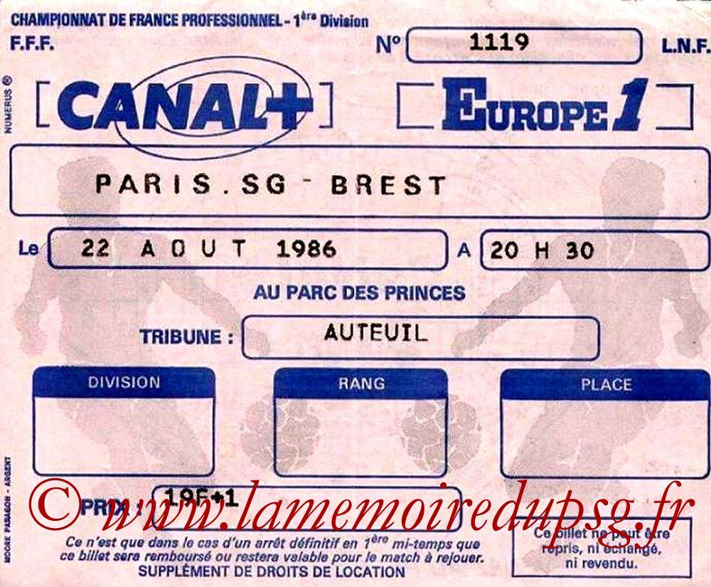 1986-08-22  PSG-Brest (5ème D1)
