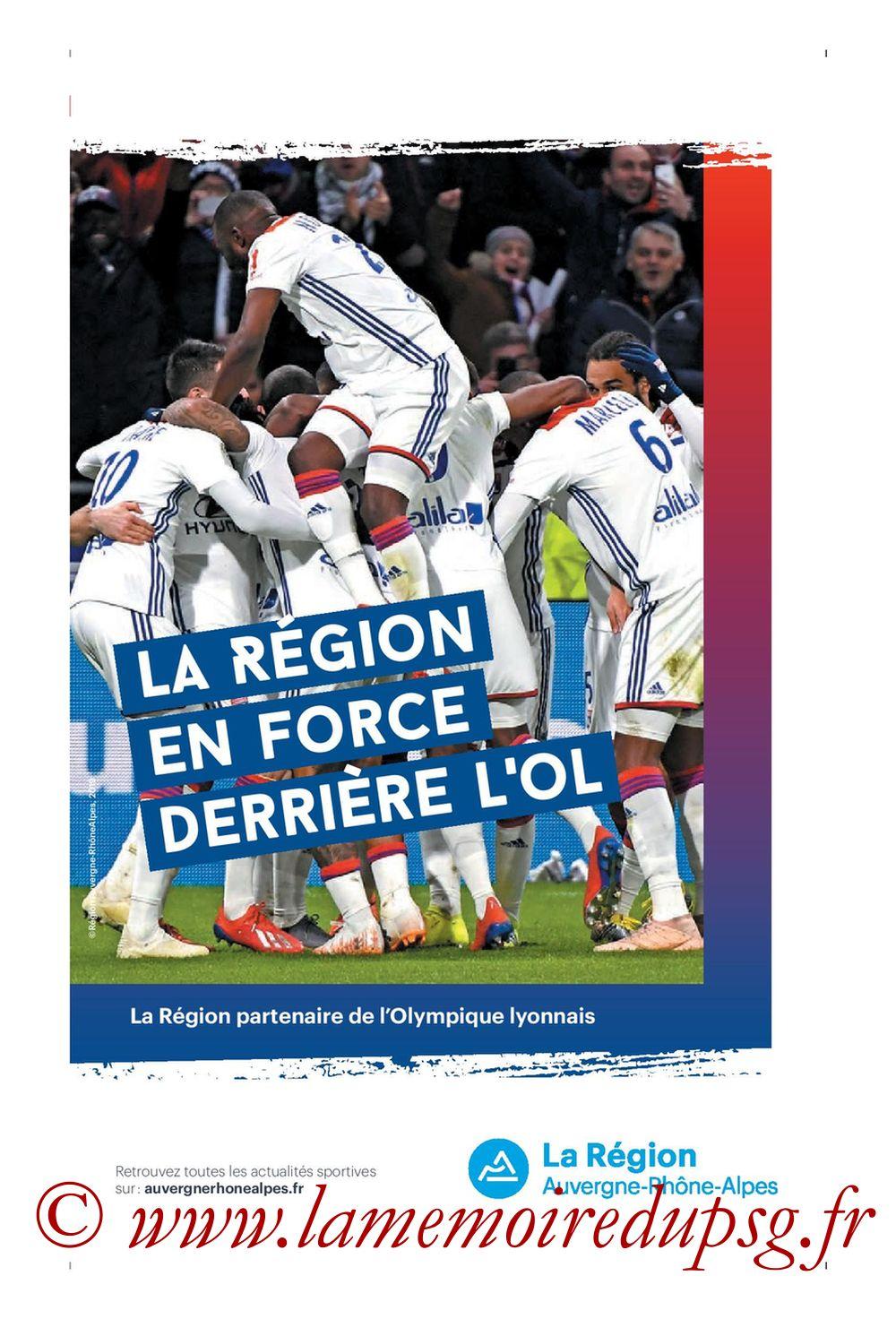 2019-09-22  Lyon-PSG (6ème L1, Tribune OL N°284) - Page 17