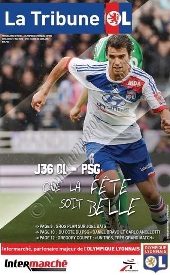 2013-05-12  Lyon-PSG (36ème L1, La tribune OL N° 125)