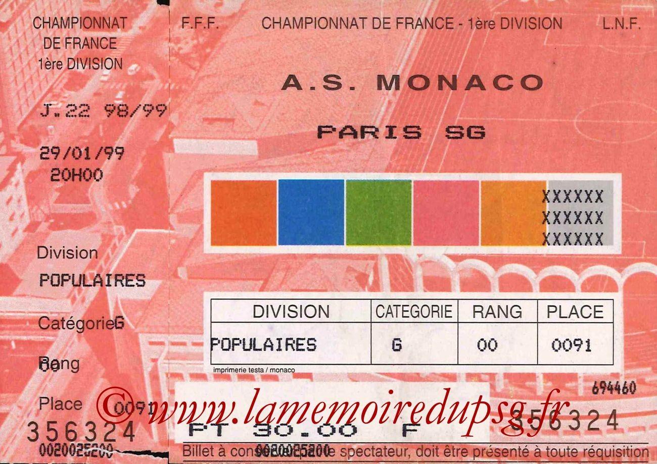 1999-01-29  Monaco-PSG (22ème D1)