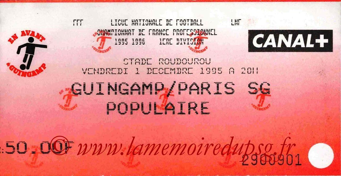 1995-12-01  Guingamp-PSG (20ème D1)