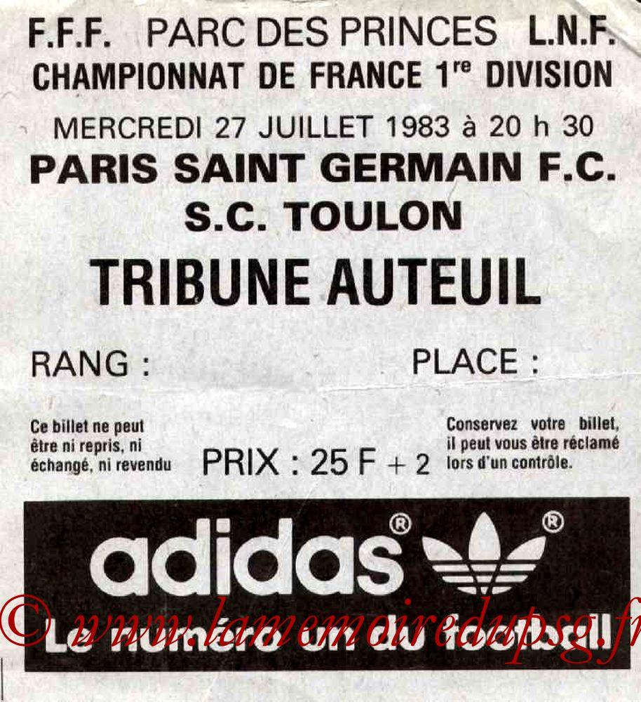 1983-07-27  PSG-Toulon (2ème D1)