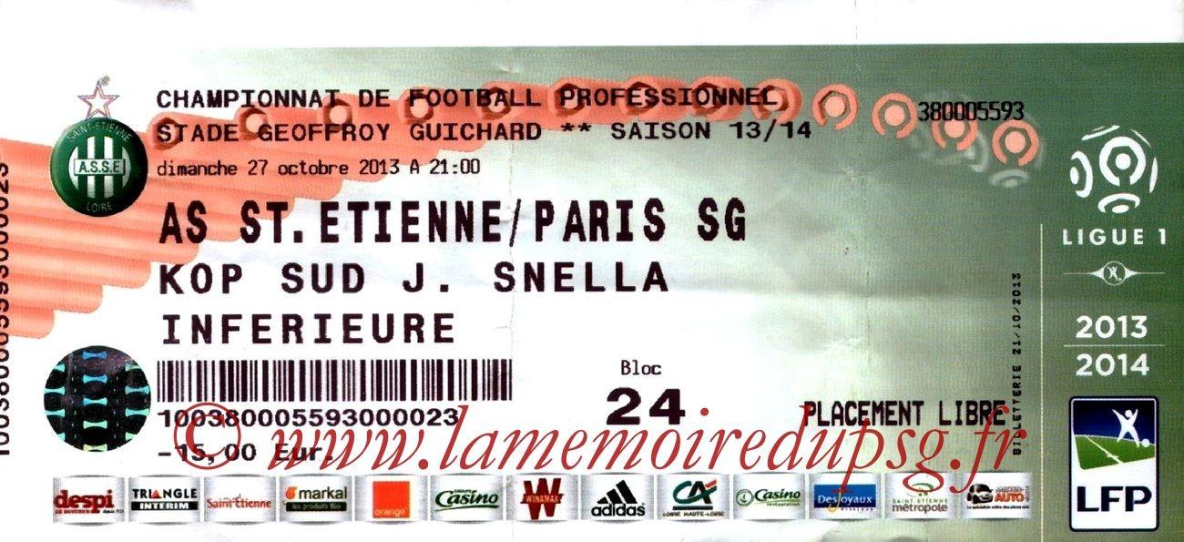2013-10-27  Saint-Etienne-PSG (11ème L1)