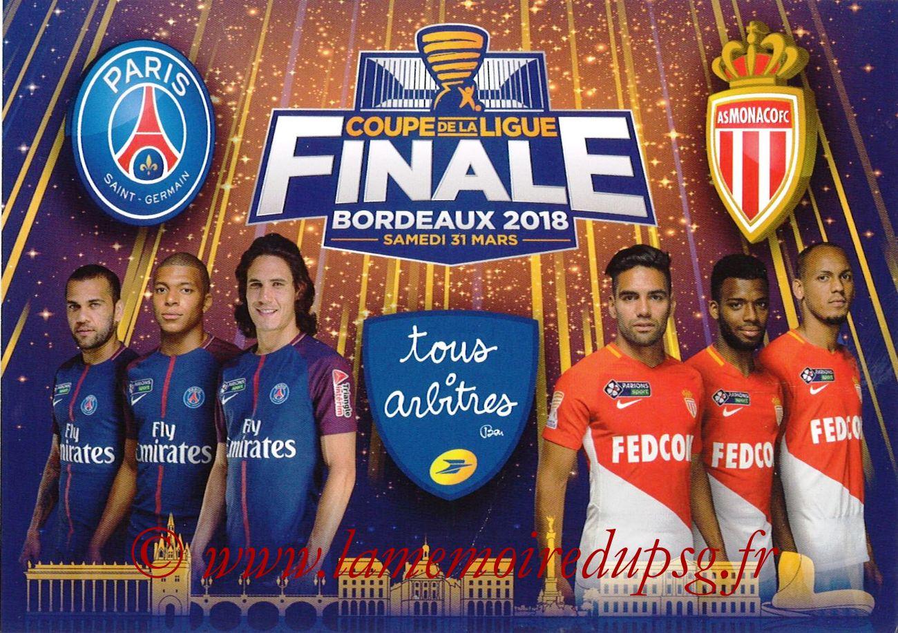 2018-03-31  PSG-Monaco (Finale CL à Bordeaux, Carte tous arbitres)