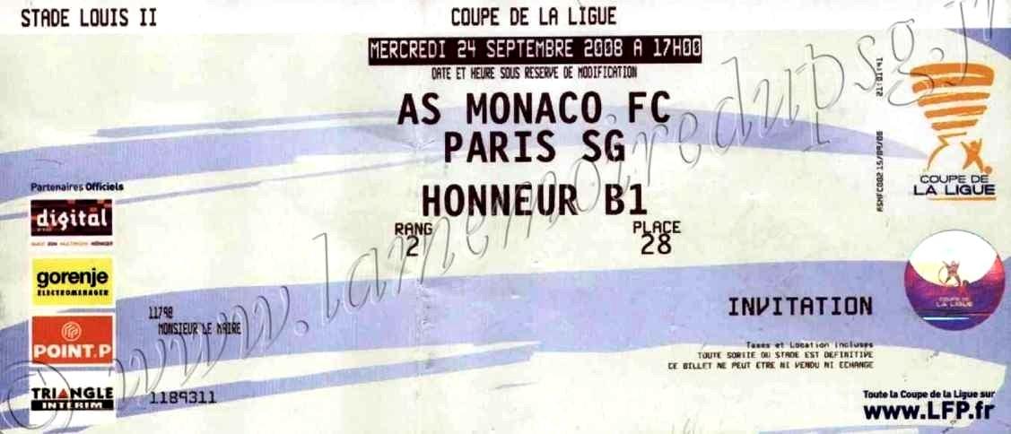 2008-09-24  Monaco-PSG (16ème Finale CL)