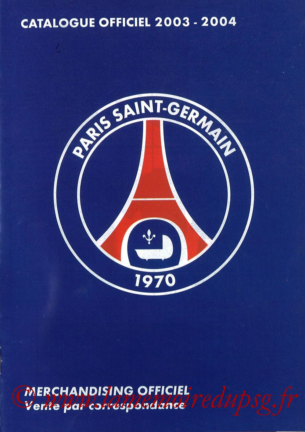Catalogue PSG - 2003-04