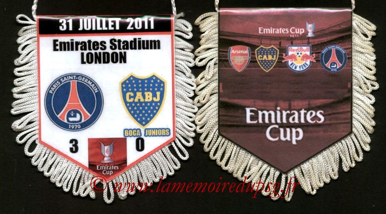 2011-07-31  Boca Junior-PSG (2ème journée Emirates Cup)