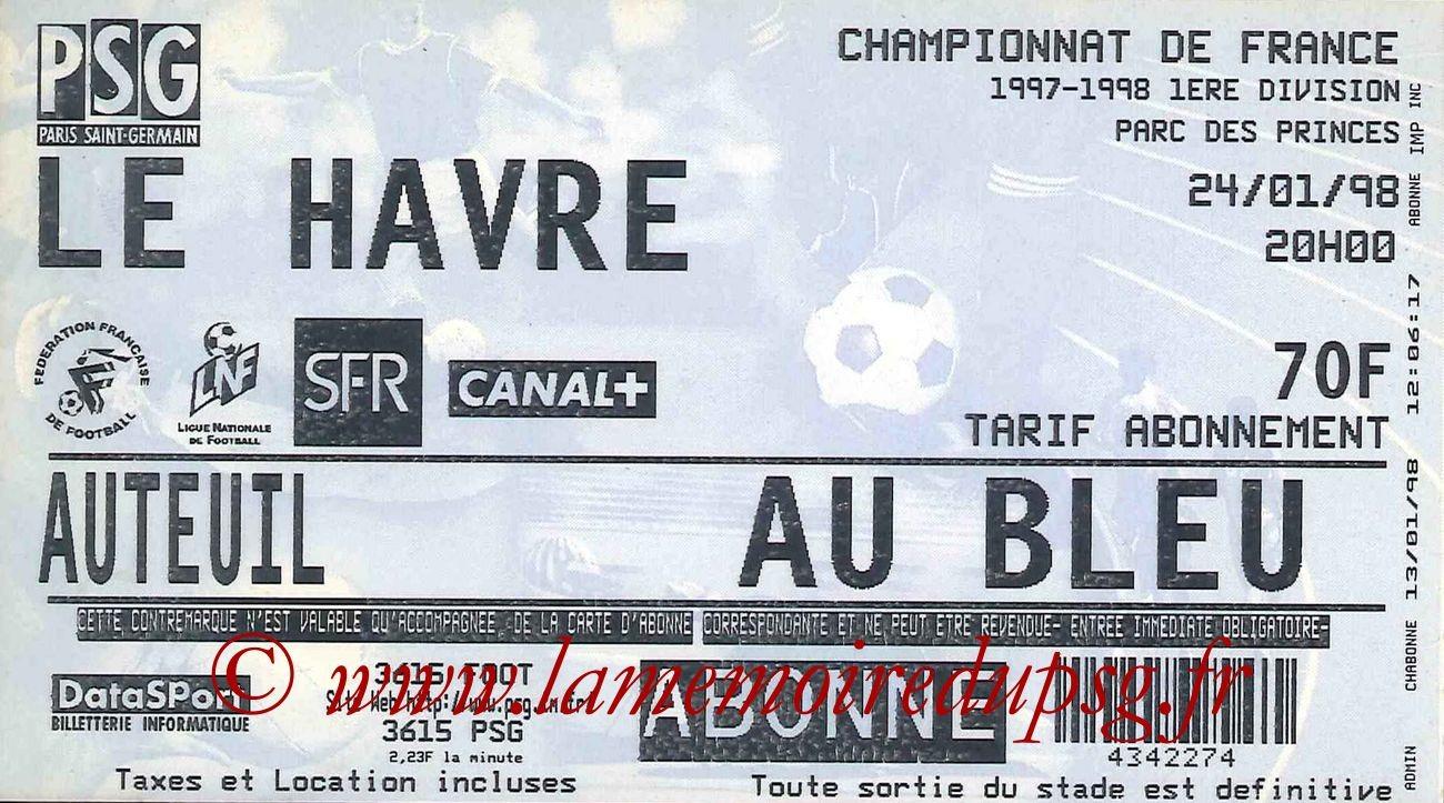 1998-01-24  PSG-Le Havre (24ème D1)