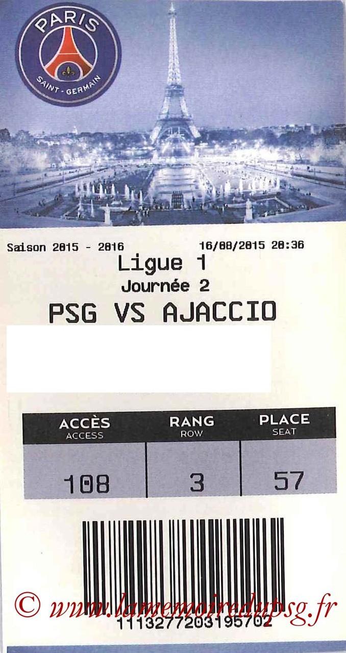 2015-08-16  PSG-Gazelec Ajaccio (2ème L1, E-ticket bis)