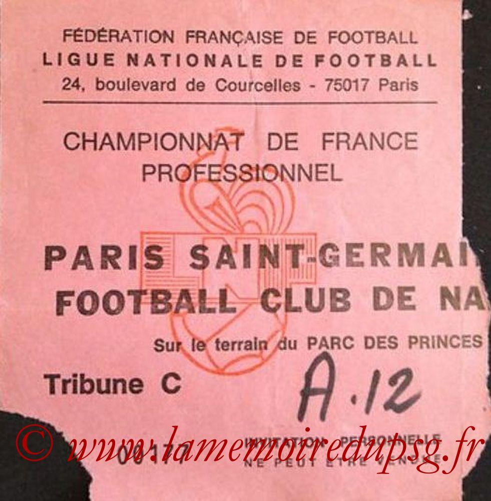 1983-12-03  PSG-Nantes (21ème D1, Invitation)