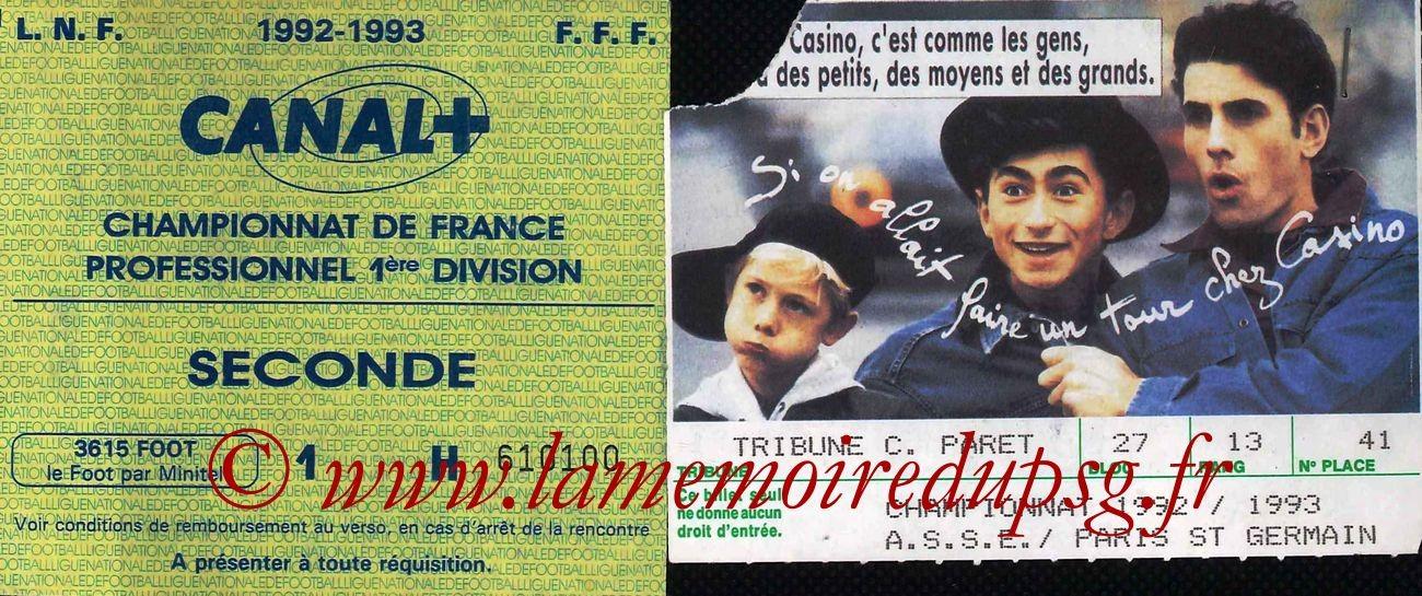 1992-08-08  Saint Etienne-PSG (1ère D1)