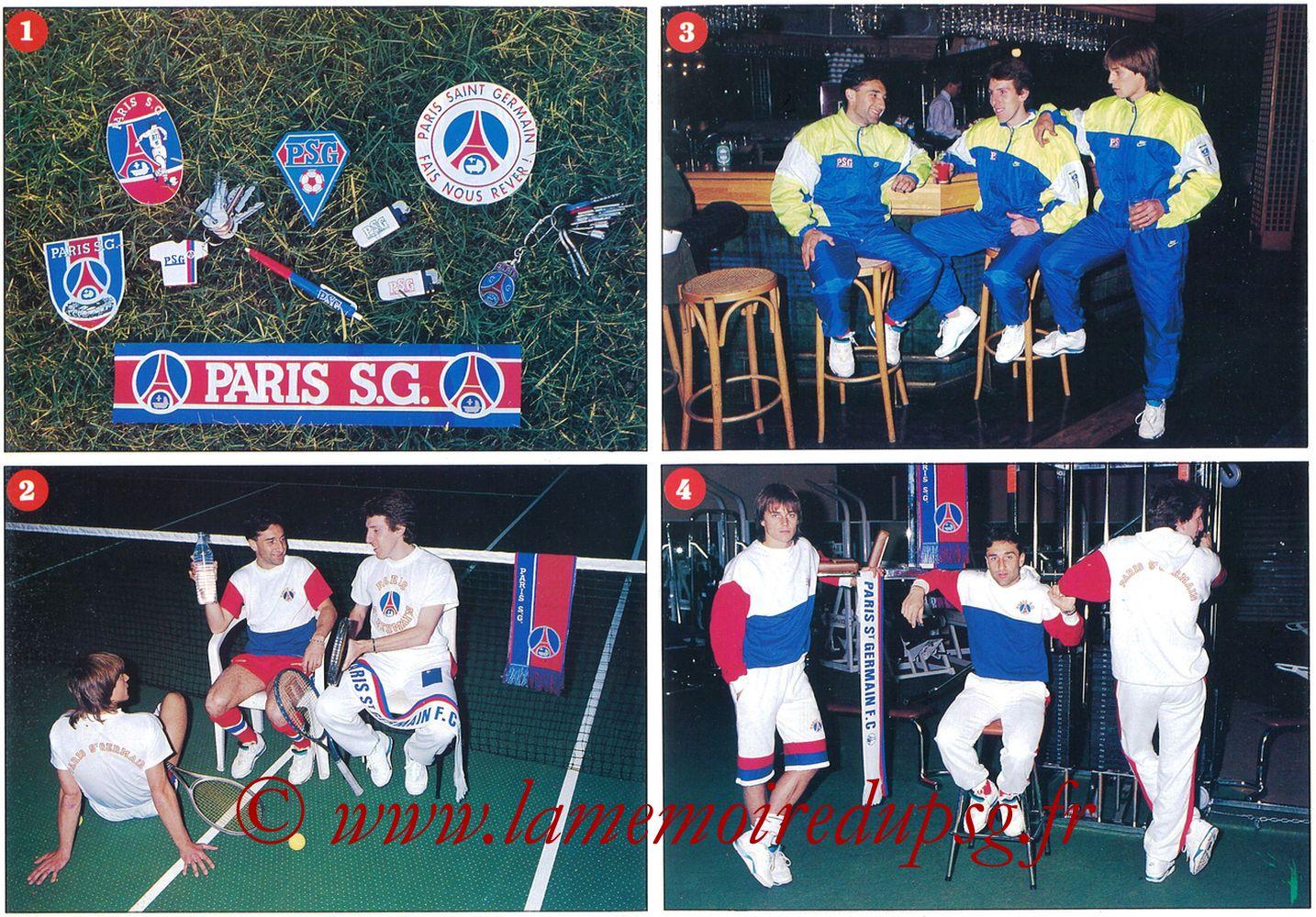 Catalogue PSG - 1990-91 - Pages 02 et 03