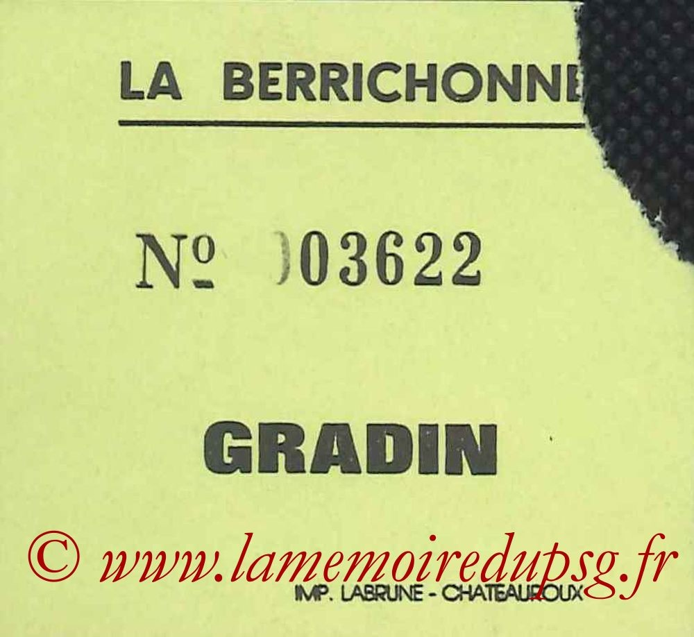1992-08-01  Chateauroux-PSG (Amical à Chateauroux, sans nom)