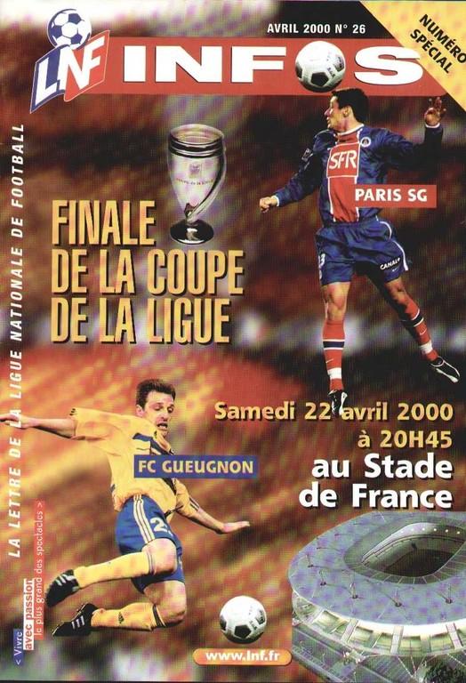 2000-04-22  Gueugnon-PSG (Finale CL au Stade de France, LNF Infos)