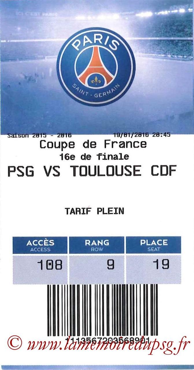 2016-01-19  PSG-Toulouse (16ème CF, E-ticket)