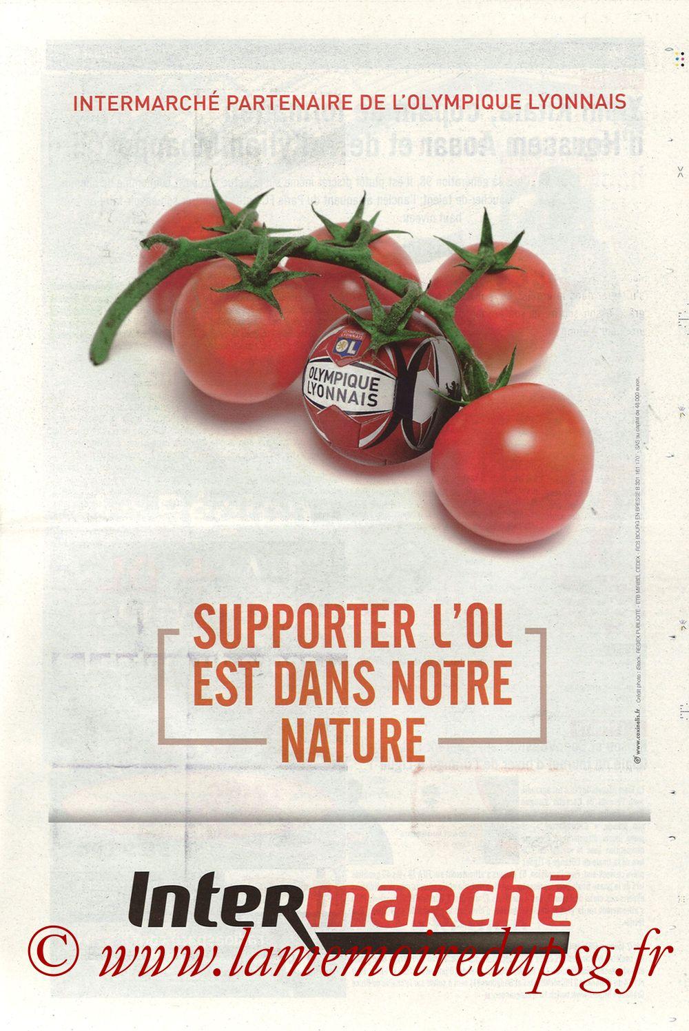 2018-01-21  Lyon-PSG (22ème L1, La Tribune OL N° 244) - Page 15