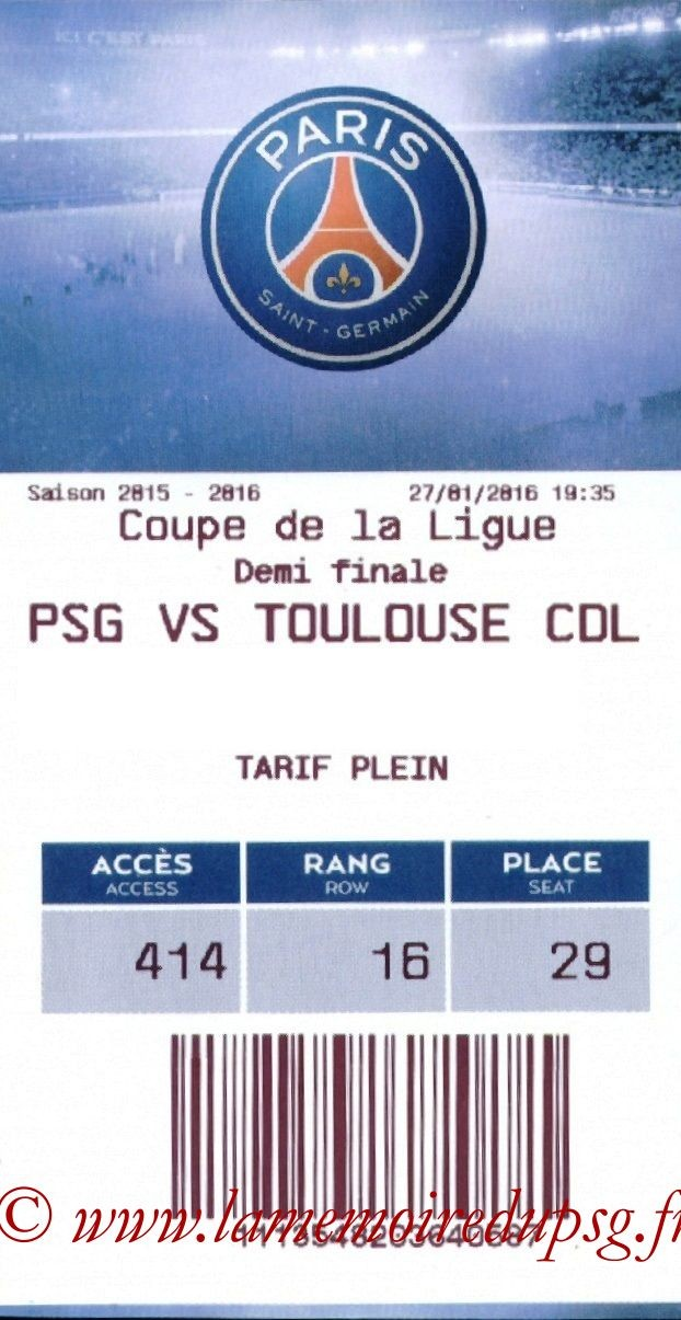 2016-01-27  PSG-Toulouse (Demi CL, E-ticket)