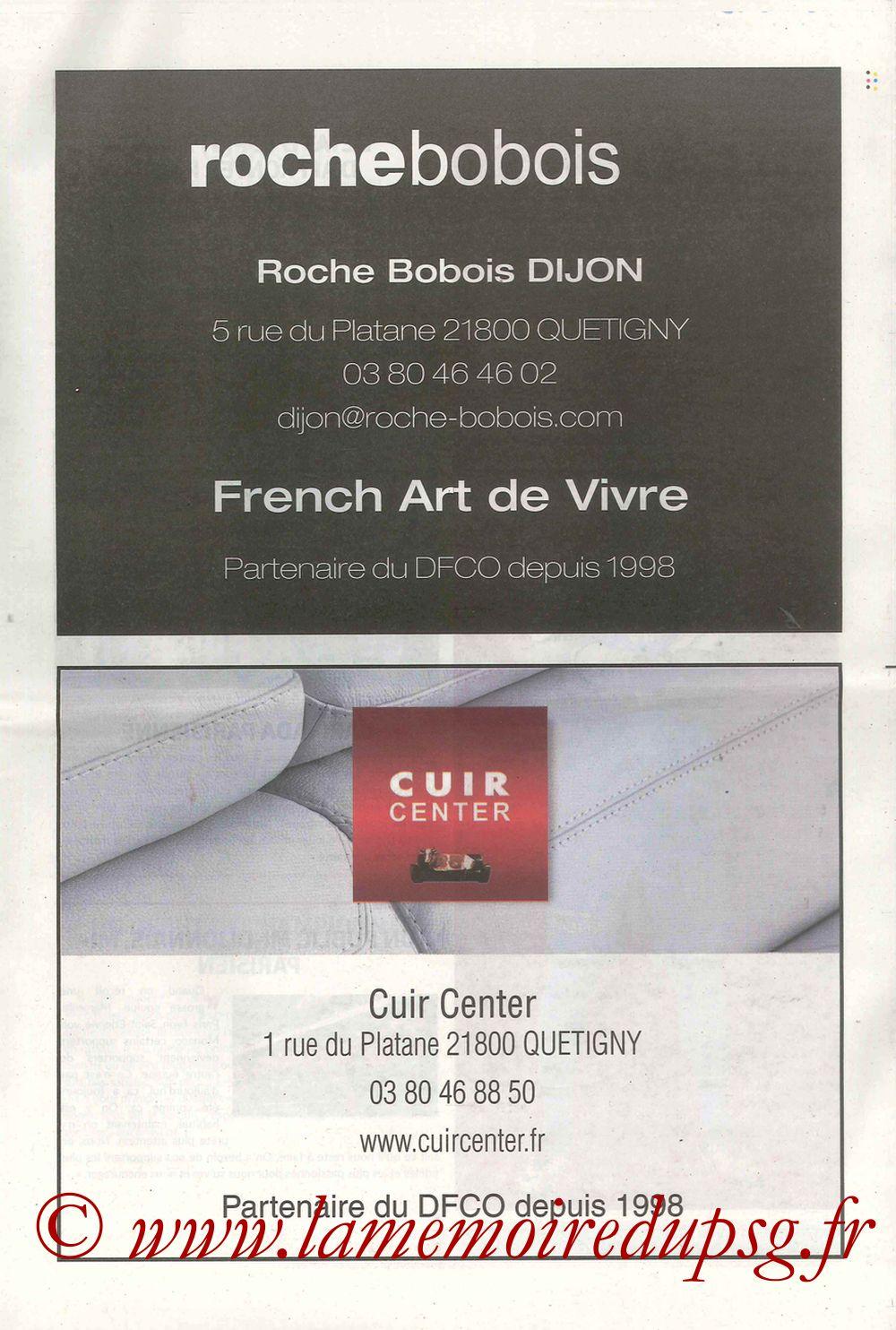 2017-10-14  Dijon-PSG (9ème L1, Chouett'Infos N°5) - Page 03