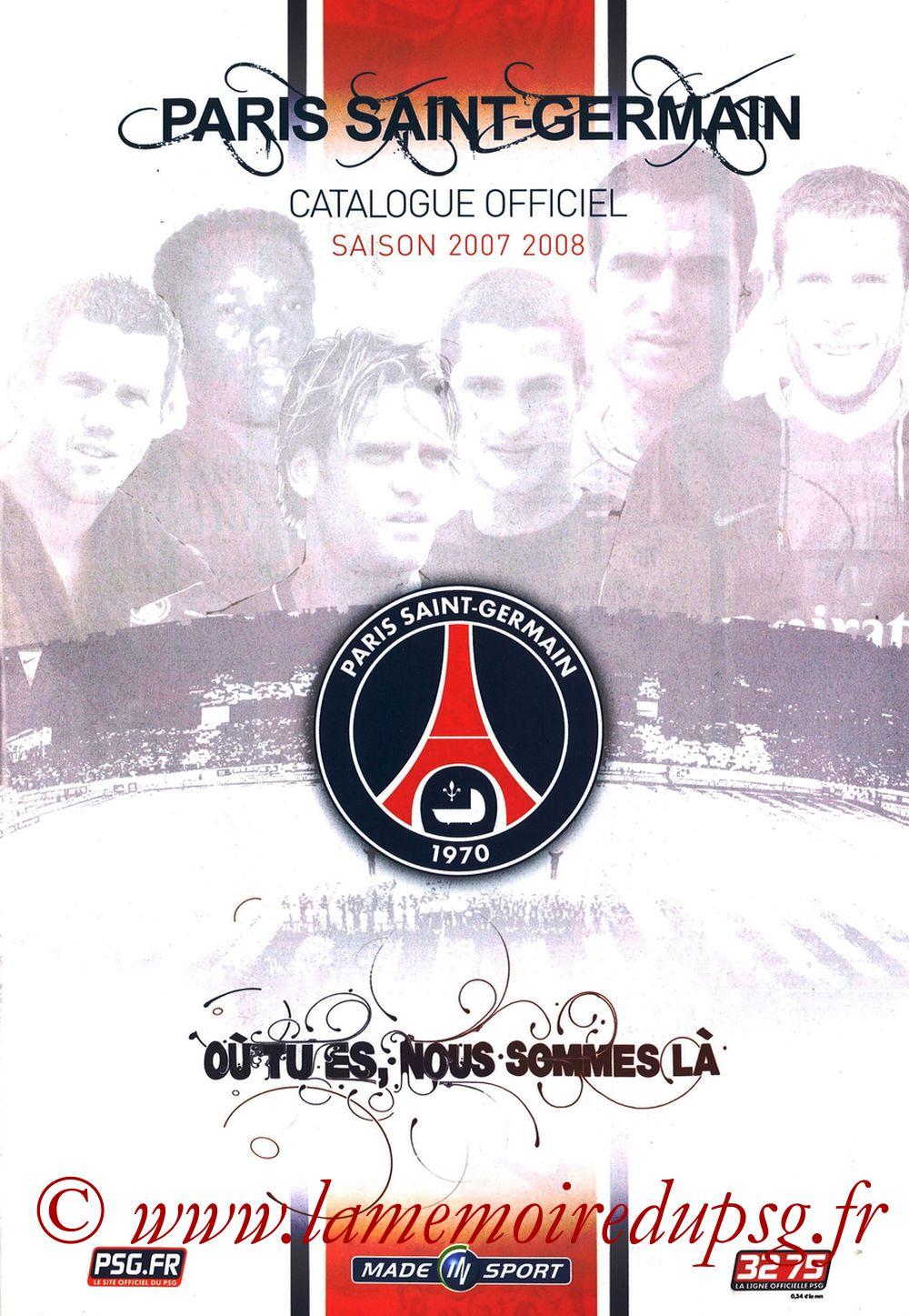 Catalogue PSG - 2007-08