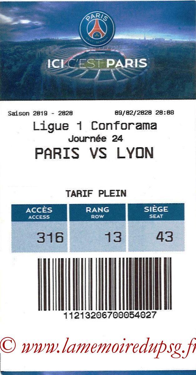 2020-02-09  PSG-Lyon (24ème L1, E-ticket)