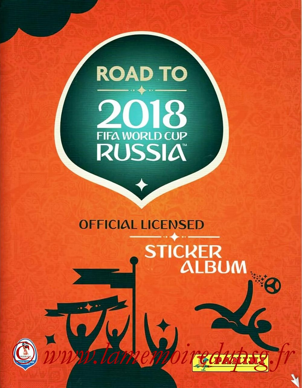2018 - Panini Road to FIFA World Cup Russia Stickers