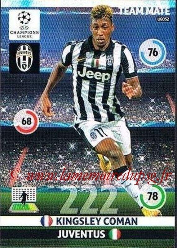 N° UE052 - Kingsley COMAN (2012-14, PSG > 2014-15, Juventus FC, ITA)